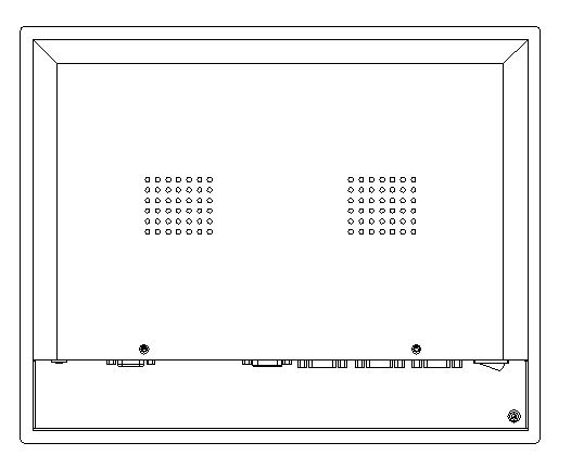 17 inch IP65 industrial panel PC, Core i3-4005U CPU, 4GB RAM, 500GB HDD, 4*RS232/4*USB, 5-wire Resistive Touchscreen