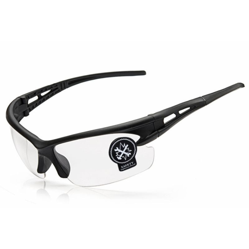 ROBESBON, gafas de ciclismo para deportes al aire libre, pesca, gafas de sol para bicicleta para hombre y mujer, protección UV400. Color transparente