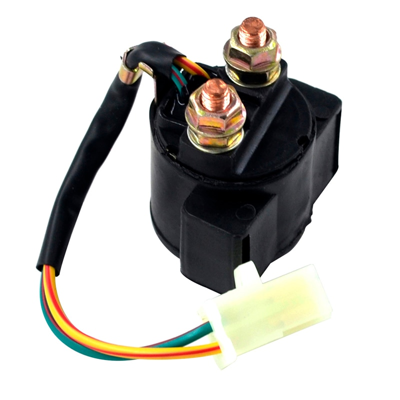 Motorcycle Starter Relay Solenoid Electrical Switch for Hyosung GT125R GT250R GT650R GD250N GD250R GV125 GV250 GV650 MS1-125 MS1 motor slinky glide clutch cable for hyosung atk united motors gv125 gv250 tcmt