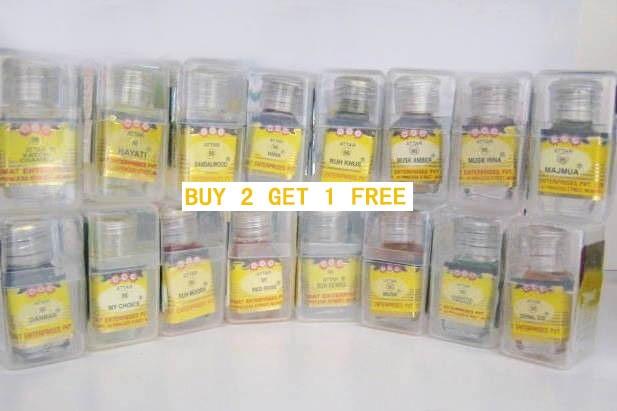 ¡Nemat 96 Series Attar Ittar aceite 2,5 ml, libre de Alcohol comprar 2 obtener 1 gratis!