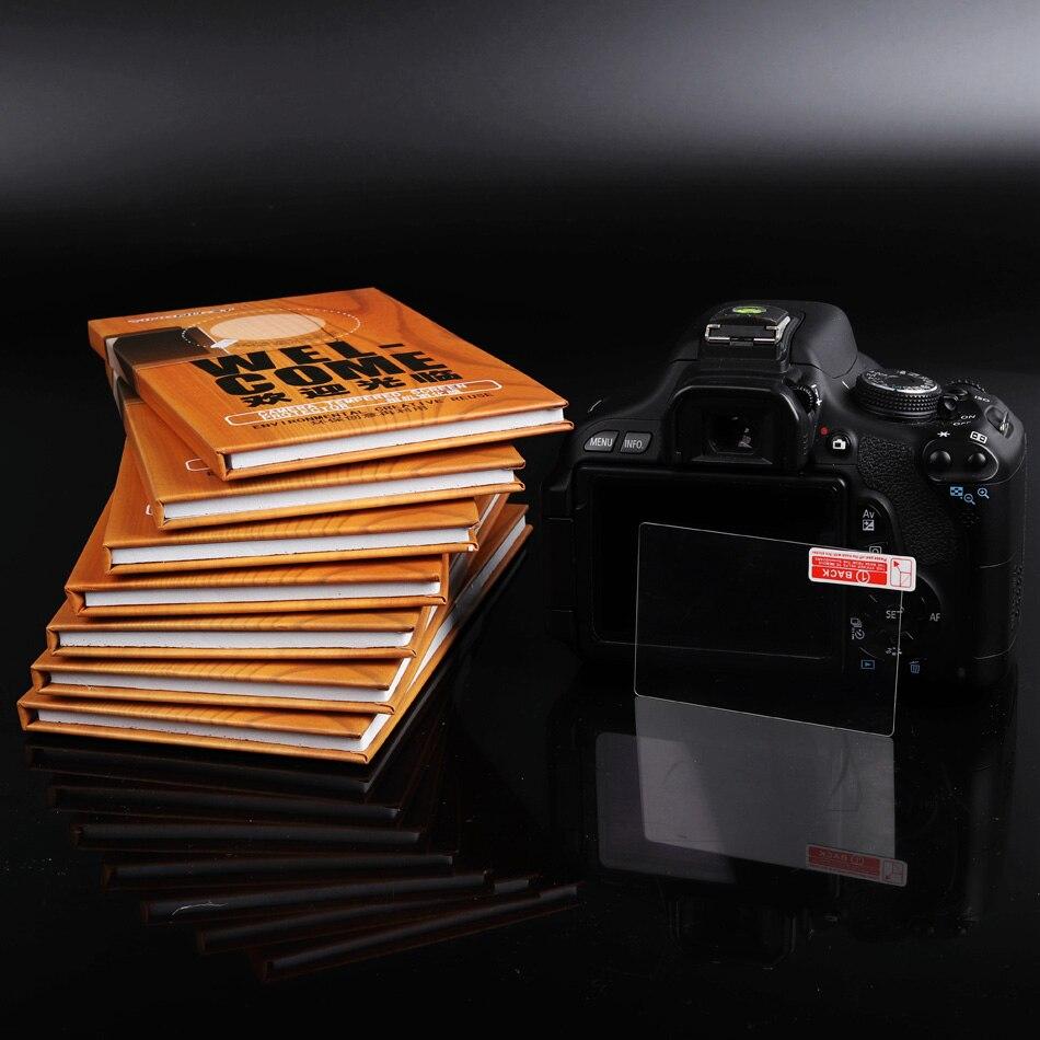 Original cámara de pantalla protector de pantalla de vidrio templado para Nikon D750 D810 D800 D800E D600 D610 película protectora endurecida parte