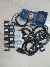 Programmateur de clés t 300 avec manuel   Outils de programmation de clés de voiture v16.8, nouveau bleu dhl gratuit