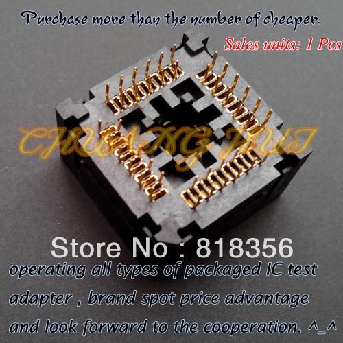 PLCC44 test socket  IC120-0444-306 socket 1.27Pitch enlarge