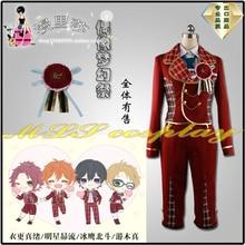 Ensemble 2017 étoiles Trickstar Isara Mao Yuuki Makoto Akehoshi Subaru Hidaka Hokuto robe Figure deux Cosplay Costume C