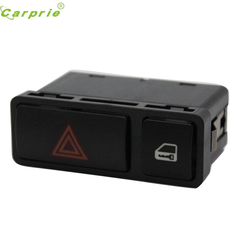CARPRIE Hazard Warning Door Central Lock Locking Switch for BMW 3 Series E46 E53 E85 325 X5 61318368920 Light Switch #D