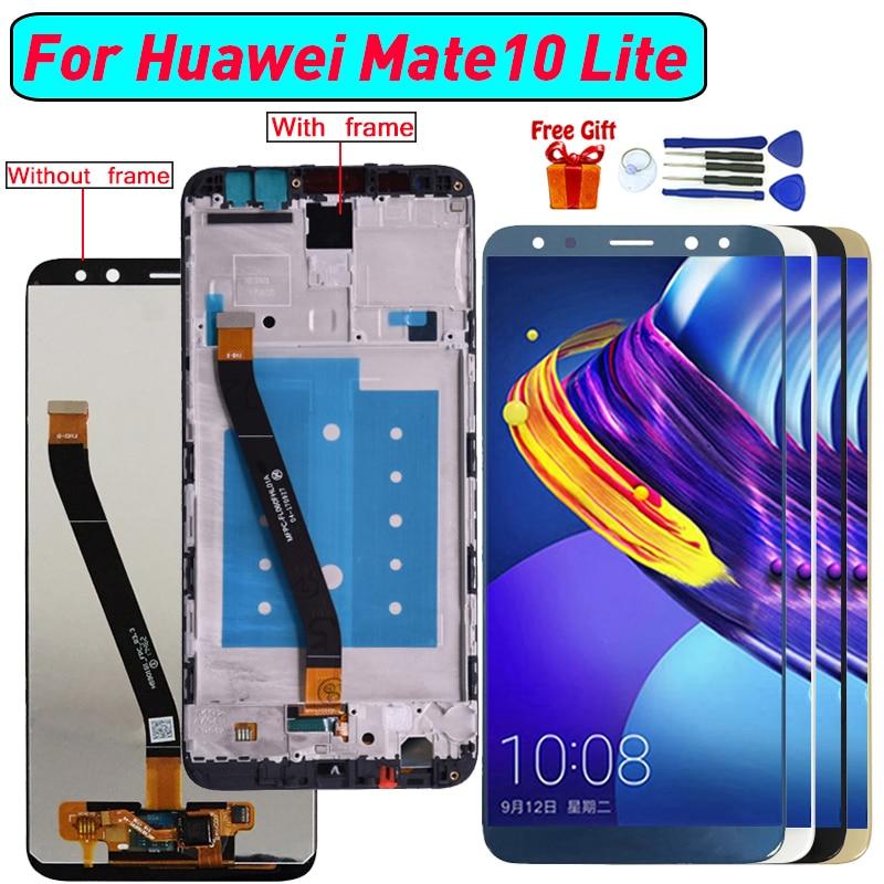 Para Huawei Mate 10 Lite Nova 2i pantalla LCD Montaje del digitalizador de pantalla para Huawei Maimang 6 Honor 9i G10 pantalla del módulo de visualización