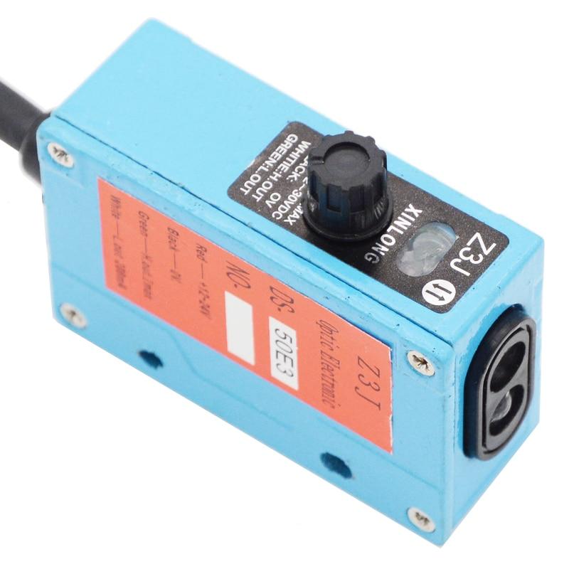 Z3J-DS50E3 XINLONG Photoelectric Switch Bag Machine Sensors NPN 12-24VDC