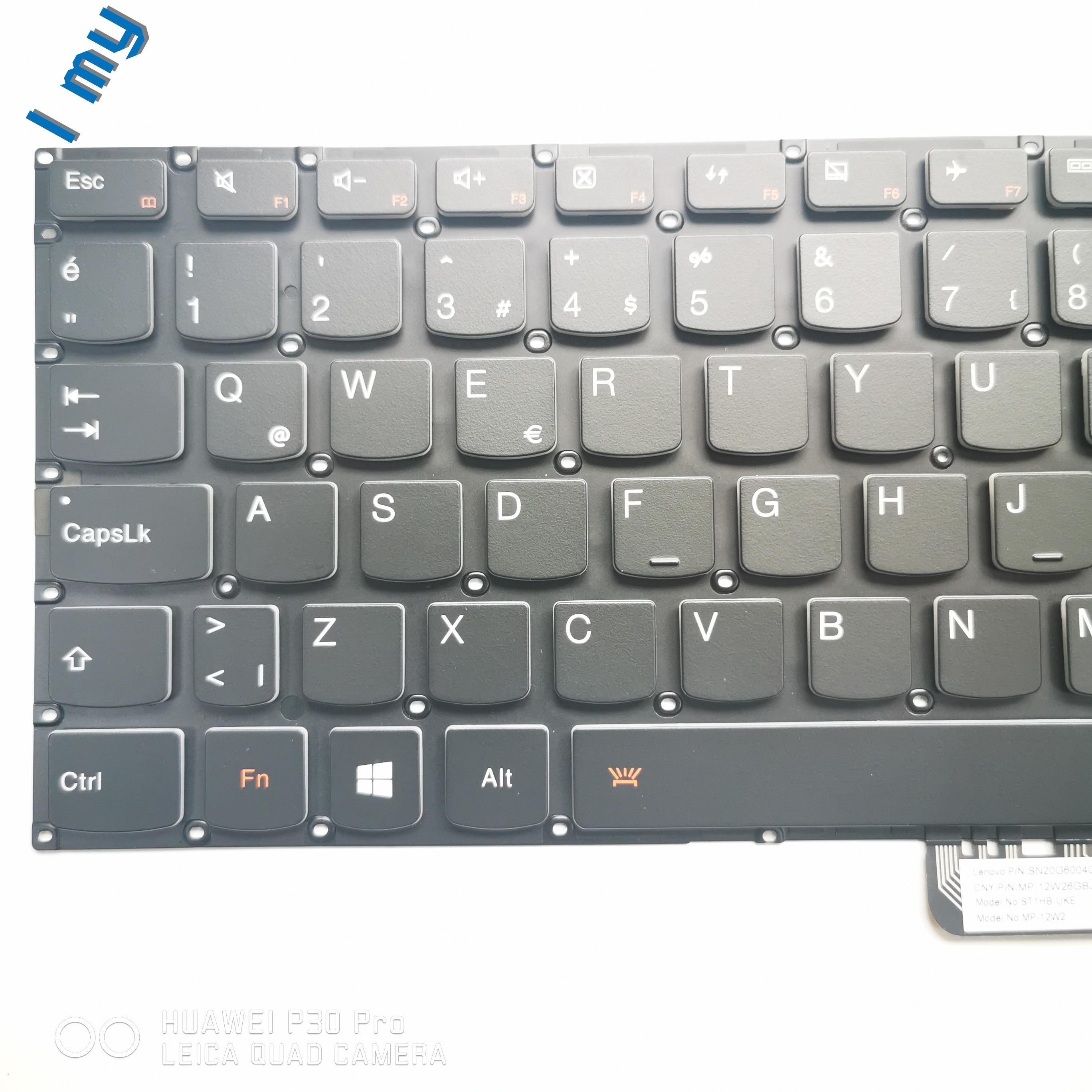 العلامة التجارية الجديدة الأصلي كمبيوتر محمول الخلفية لوحة المفاتيح لينوفو اليوغا 2 13 تركيا الطور Yoga3-13 keybaord الكمبيوتر المحمول مع الخلفية ال...