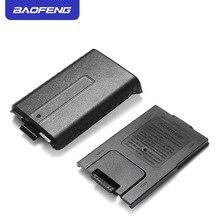 Portátil Preto Prolongado 6x AAA Bateria Caso Shell Pack Para BaoFeng UV5R UV5RB UV5RE Walkie Talkie