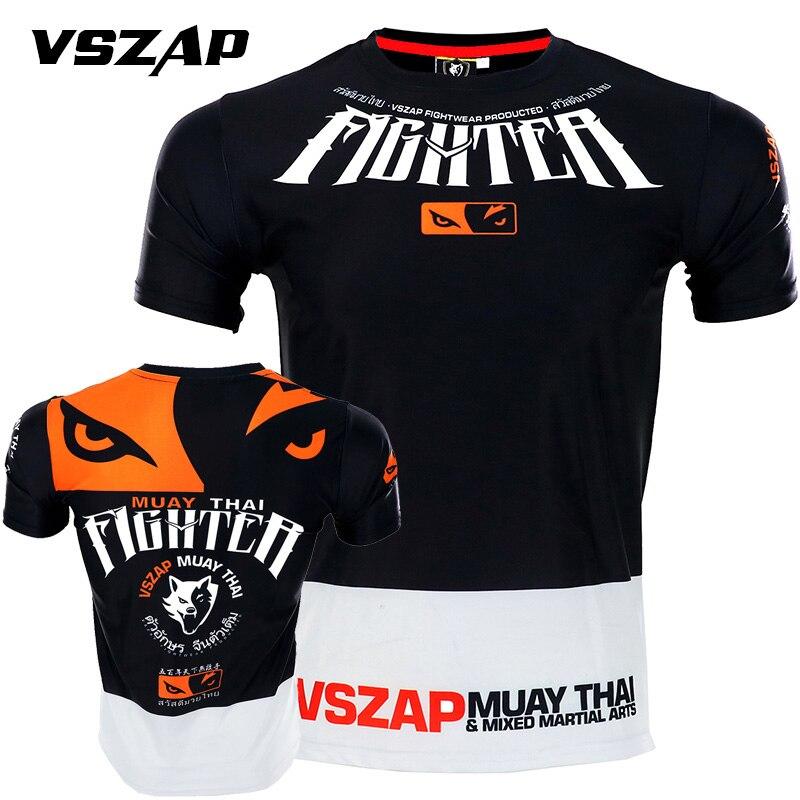 VSZAP MuayThai camisetas GarudaMMA boxeo deportes ejercicio de lucha medias de elasticidad pantalones sudaderas ropa de boxeo muay thai