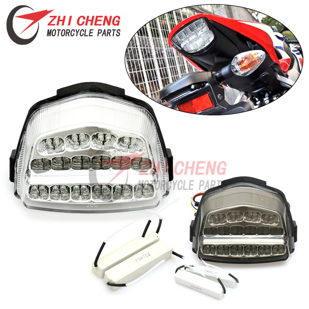 Lámpara LED de luz trasera de freno trasero Luz integrada para motocicleta para Honda CBR1000RR CBR 1000 RR 2008-2014 2015 2016