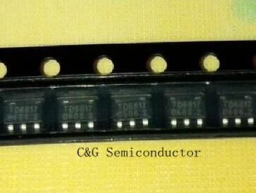100 piezas TD6817 TSOT23-5 1,5 MHz 2A original