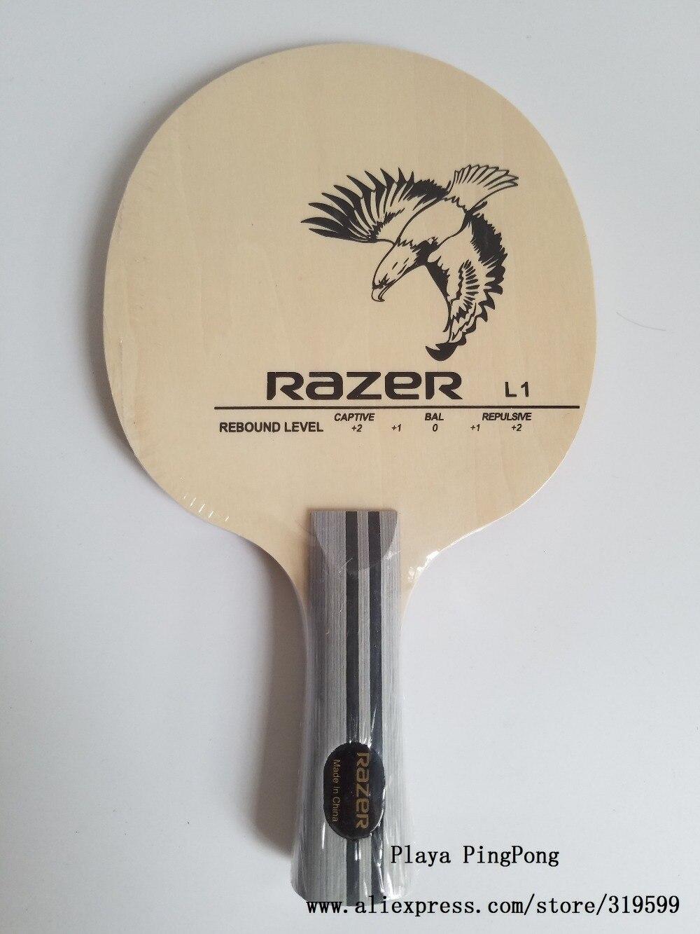 Razer L1 L-1 raqueta de tenis de mesa de entrenamiento hoja de tenis de mesa profesional para raqueta de ping pong
