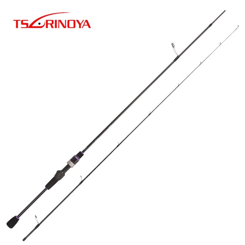 TSURINOYA NEW AJING Fishing Rod ELF 1.83m UL F 2 Section Rod Rockfish FUJI Guide Rings Accessories Weight 70g Lure Weight 1-7g