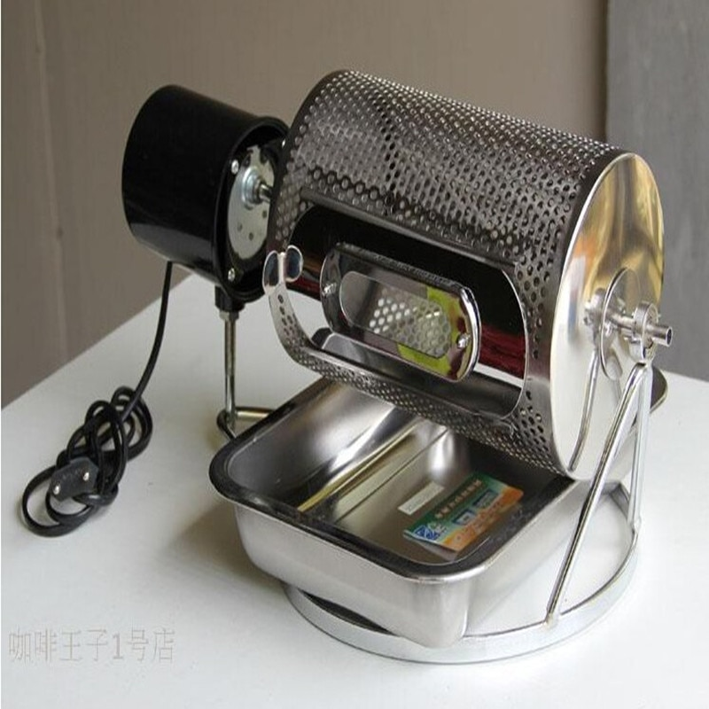 Small home use electric drum type coffee bean Peanuts melon seeds nuts roaster baking machine ZF