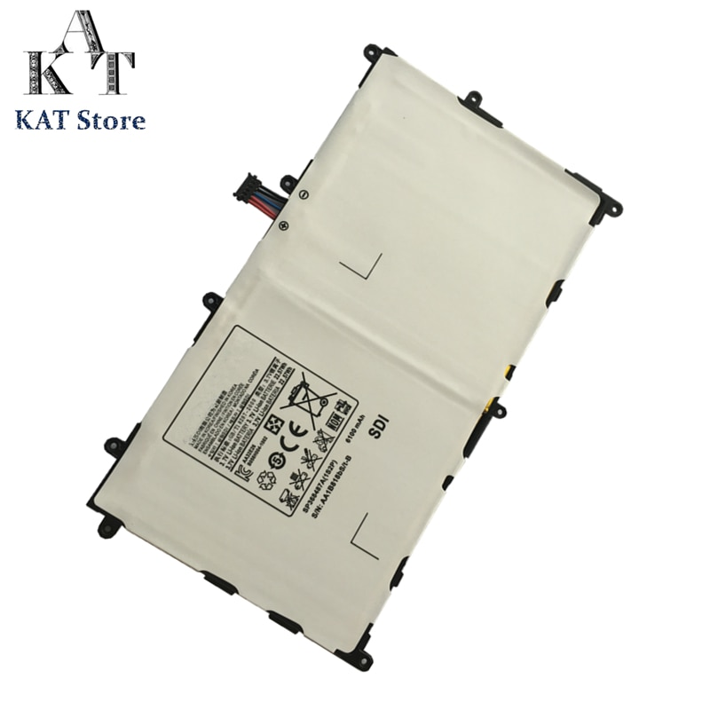 Batería de tableta para Samsung Galaxy Tab 8,9 GT-P7300 P7310 P7320 6100mAh baterías de iones de litio SP368487A (1S2P) acumulador recargable