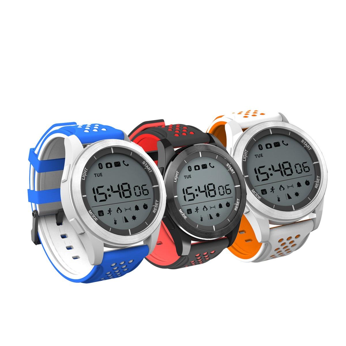 N. ° 1 F3 Smart watch deportes Bluetooth IP68 profesional impermeable natación reloj podómetro exterior reloj de pulsera para Android IOS