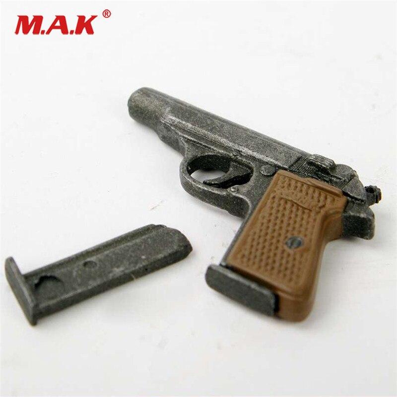 "Modelo de arma de dragón a escala 1/6 pistola automática Walther PPK modelo de pistola para 12 ""soldado accesorio de figura de acción regalo"