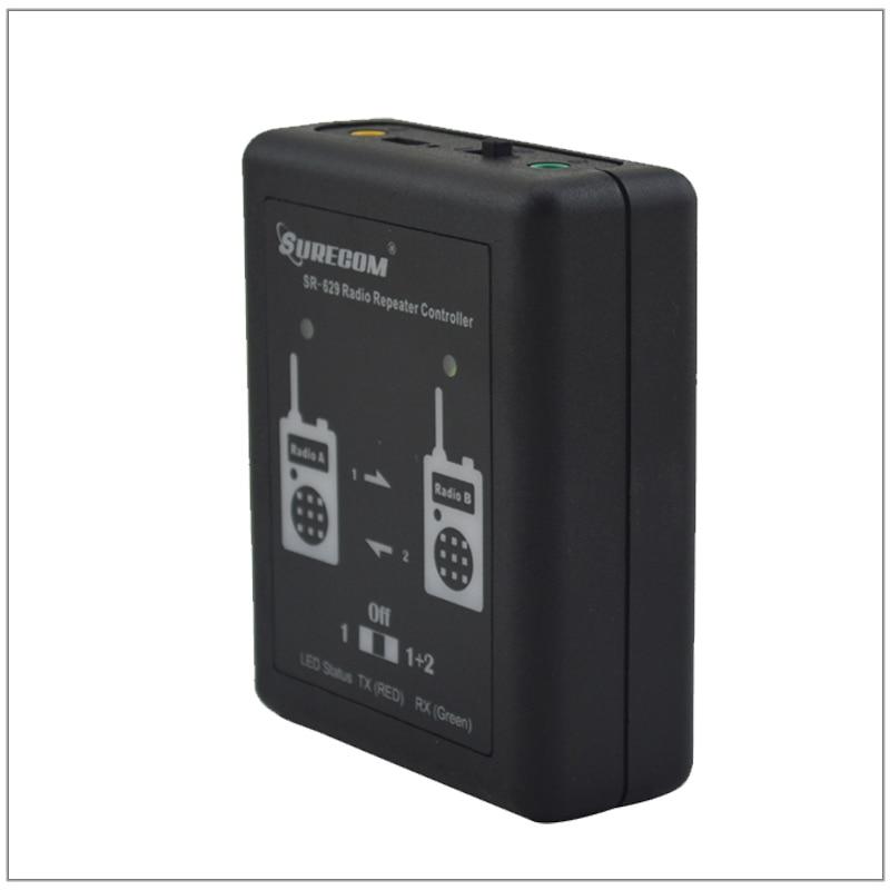 Surecom SR629 SR-629 دوبلكس مكرر تحكم مع 2 قطعة راديو توصيل الكابلات (كابل ل خيارات) ل اسلكية تخاطب