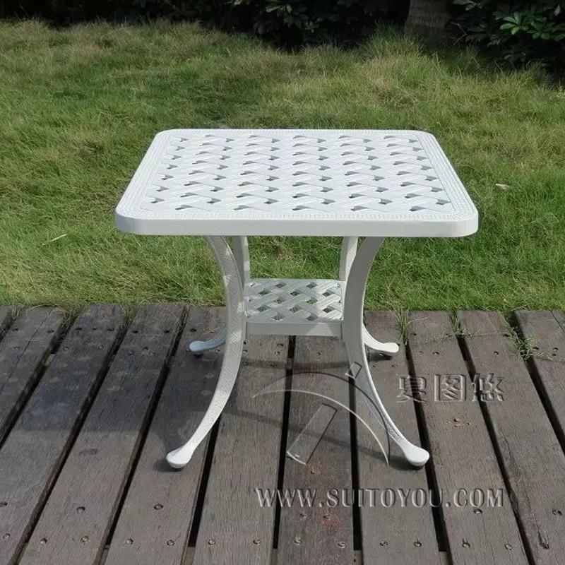 Чугунный алюминиевый журнальный столик для сада, садовая мебель для отдыха, садовая мебель, уличный стол задорожная людмила александровна садовая мебель своими руками