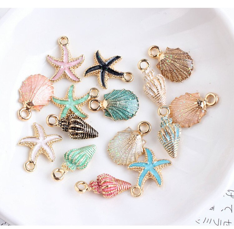 1 Pack Nette Multi-stil Kleine Groß Natürlichen Strand Sea Shell Conch Perlen Cowry Tribal DIY Schmuck Handwerk Zubehör