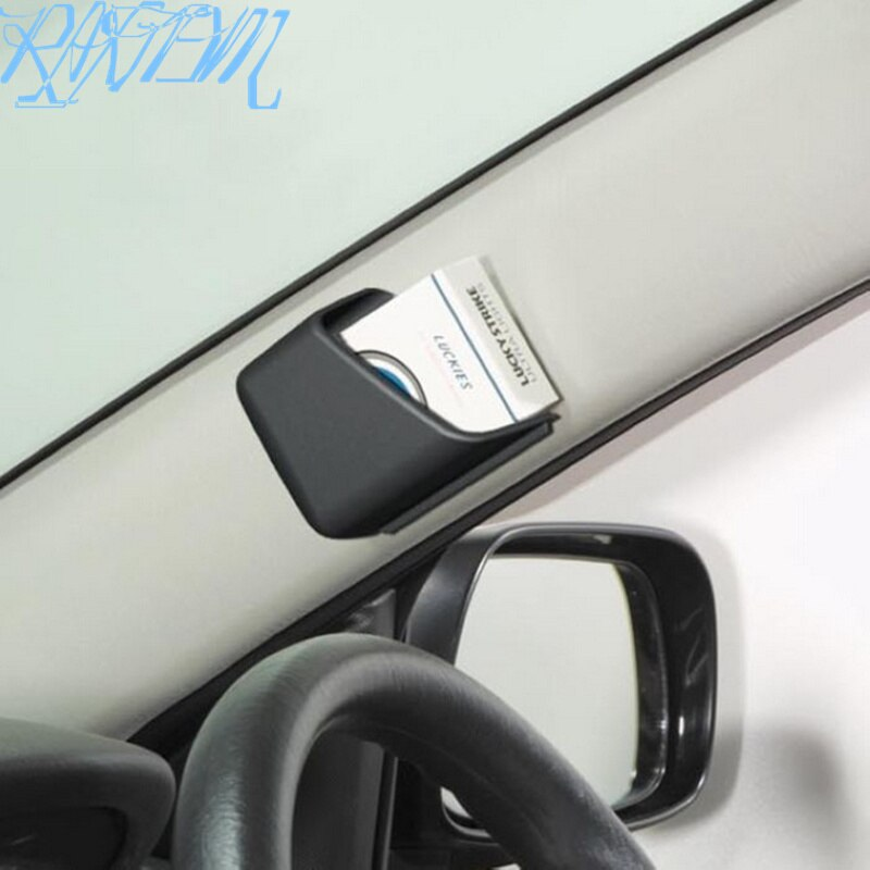 Caja organizadora de almacenamiento para coche, 2 uds., accesorios para coche, para Volkswagen VW Golf 4 6 7 GTI Tiguan Passat B5 B6 B7 CC