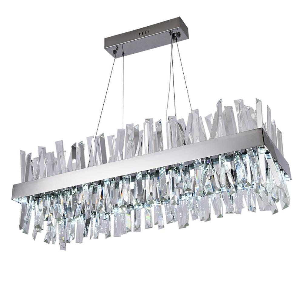 Candelabro de Cristal de diseño de lujo, lámpara LED moderna, AC110V, 220V,...