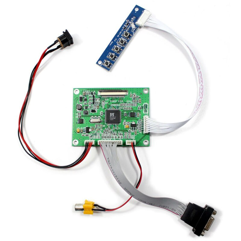 "VGA AV LCD Placa de controlador para 3,5 ""tft lcd PD035VX2"