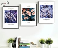 magnolia flower daisy wall art poster modular picture unframed canvas painting modern living room decorative artwork