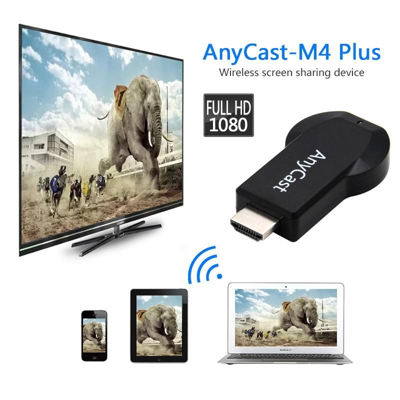 TV stick m4 plus pantalla wifi reflejo múltiples HDMI 1080P TV stick adaptador anycast para Mini PC Android