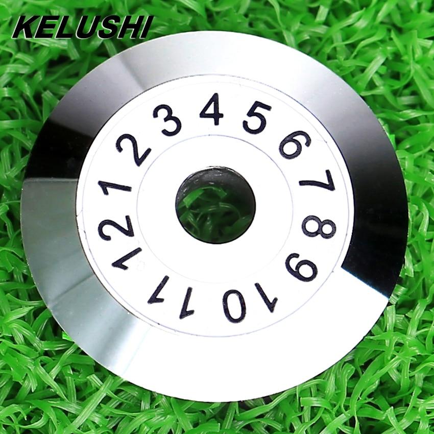 KELUSHI Free Shipping FC-6S Optical Fiber cutting blade/ Fiber Cleaver Blade/Cutting Wheel High Precision 12 surface