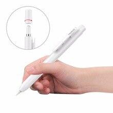 Moko capa protetora para apple pencil, suporte de caixa de lápis com grampo embutido, proteção de ponta retrátil, botão de mola, tampa de segurança