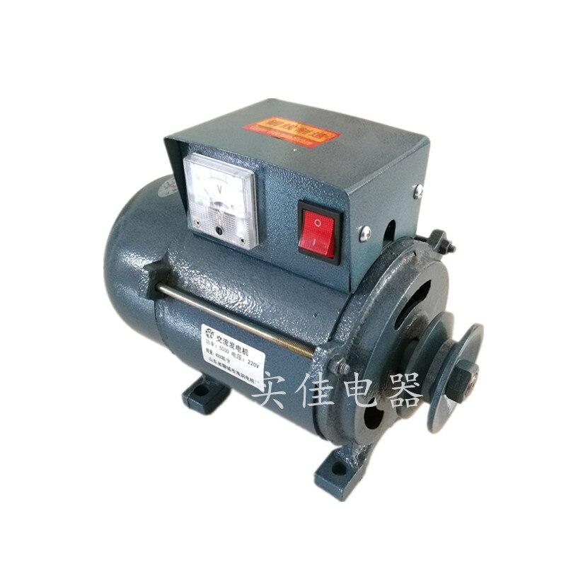 220 فولت عالية الطاقة 3500 واط بكرة صغيرة نوع المغناطيس الدائم مولد الإضاءة