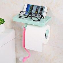 New Home Creative Plastic Pull-type Toilet Paper Towel Organizer Kitchen Bathroom Seamless Tissue Box Roll Paper Storage Holder