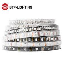 1 m/5 m 30/60/144 leds/m SK9822 (similaire APA102) led bande SMD5050 blanc PCB/noir PCB IP30/IP65/IP67 DC5V