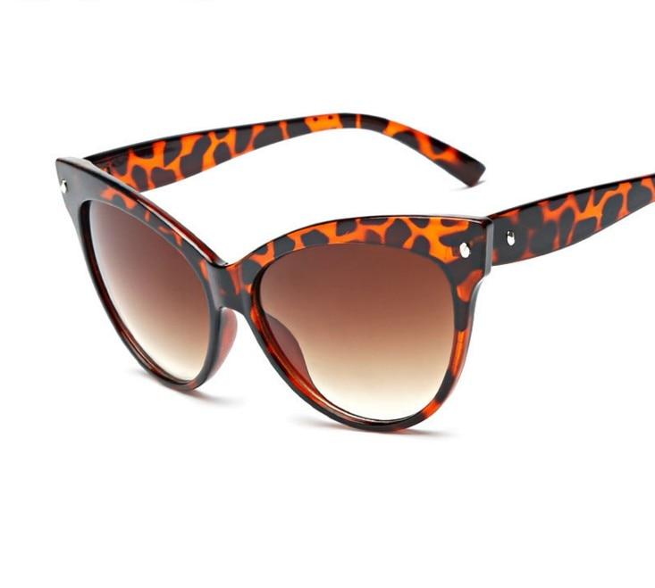 R8 2016 UV400 Vintage Retro Cat Eye Sunglasses Women Glasses Summer New Fashion cat eyes Glasses A D