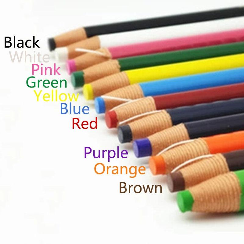 Caneta marcador ferramentas de costura giz corte-livre para alfaiate vestuário lápis acessórios de costura tecido 1 pc lápis giz alfaiate
