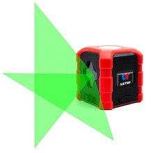 NEW Laser level green light cross 2 line mini pitch line marking instrument slash