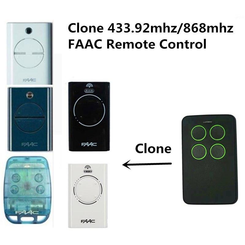 Faac xt2 433 slh lr (xt2 433 slh) branco 433.92mhz código de rolamento faac tm 868ds-1, 2,3 clone transmissor 868,3mhz