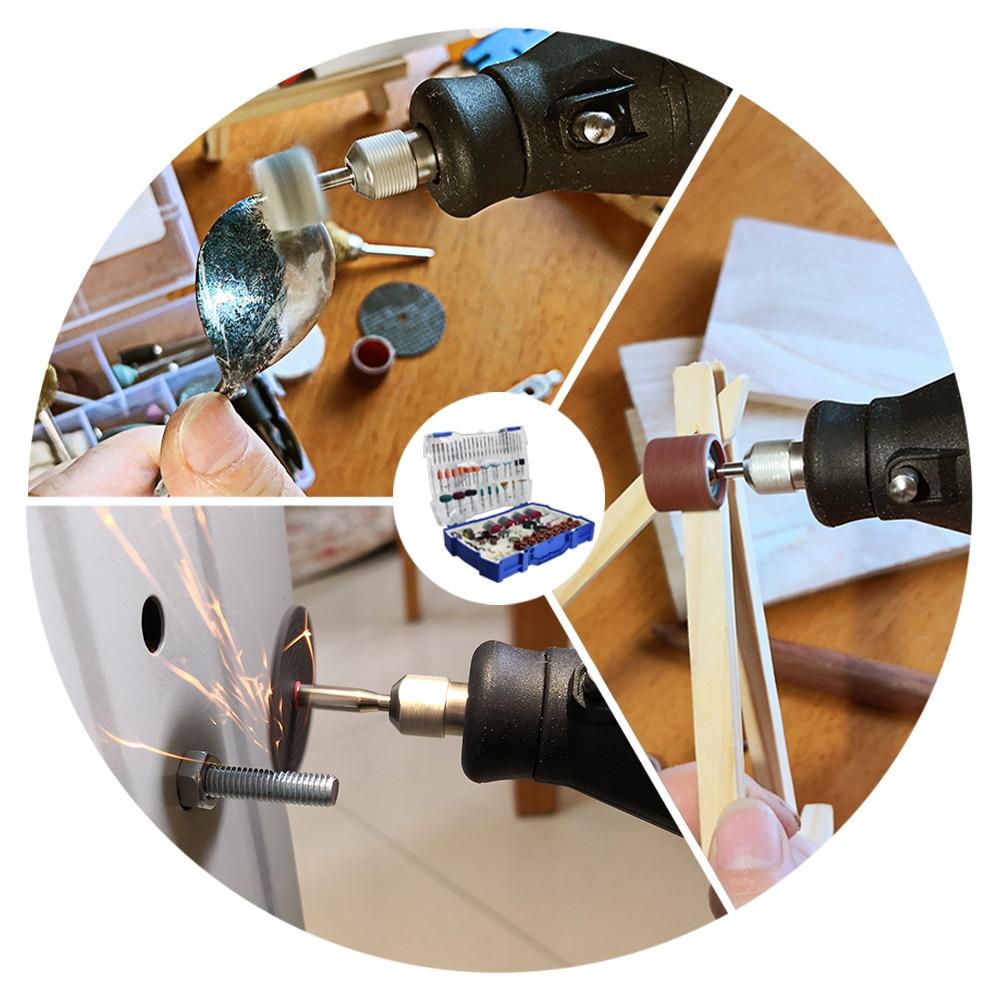 268 vnt. Elektrinių mini grąžtų rinkinys, skirtas šlifuoti - Abrazyviniai įrankiai - Nuotrauka 6