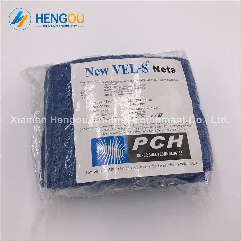 12 peças sm74 máquina de impressão 28 net-298 super super bull net, sm74 azul net