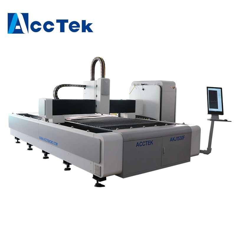 Máquina cortadora láser de fibra Raycus/IPG para MS SS CS con cortador láser de fibra 2kw 3kw