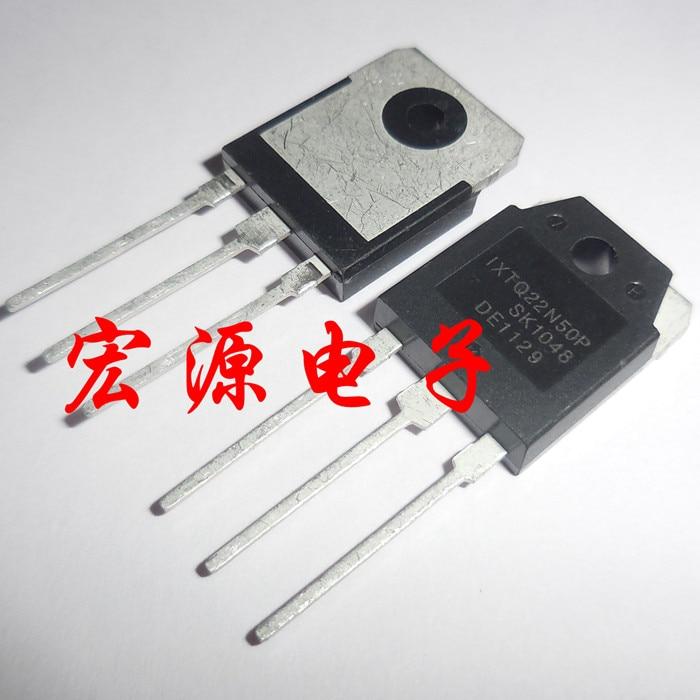 5 unids/lote IXTQ22N60P IXTQ22N50P 22N50 22N60 TO-3P en Stock