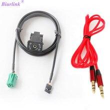 Biurlink-Port Audio arrière dautoradio   Mini connecteur ISO 6pin, adaptateur de câble Aux pour lautoradio Renault