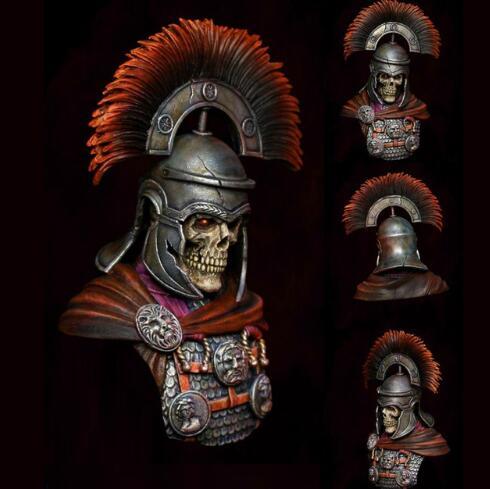 1/10 antiguo romano centurión soldado busto figura de resina en miniatura kits miniatura gk sin montar sin pintar