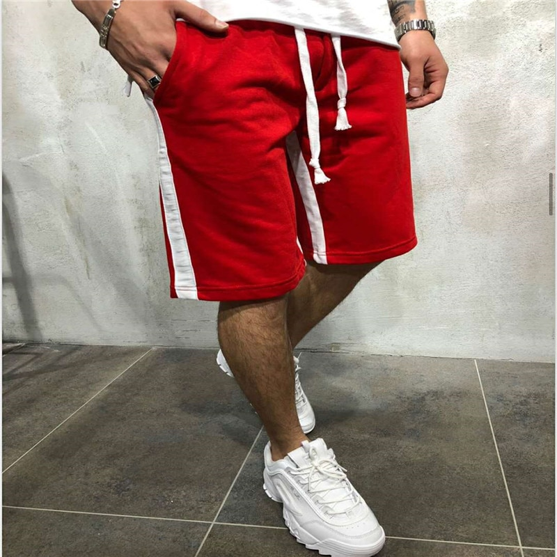 2020 Men Running Shorts Mens Sports Male Cotton Drying men Jogging Teen Loose Fitness Short Jogger