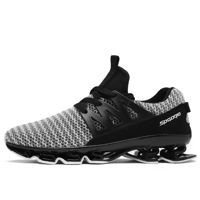 Plus Size 39-47 Hot Sale 2018 Autumn Men Sneakers Shoes Breathable Casual Shoes Fashion Comfortable Lace up Sneakers Shoes