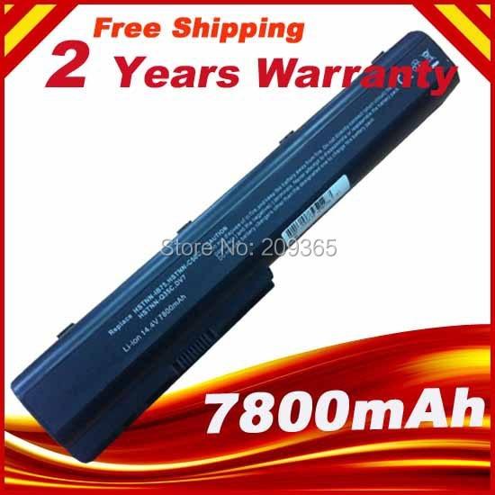 7800mAh Batteria Per HP Pavilion DV7 464059-141, HSTNN-IB75, 464058-121 hstnn-db74, hstnn-db75, hstnn-ib74, hstnn-ib75 hstnn-ob74