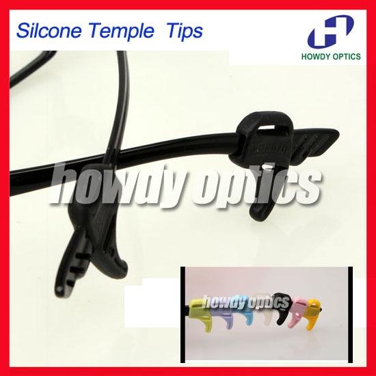200 piezas niños y adultos gafas Anti Slip gancho de oreja templo punta titular gafas accesorios DHEH03