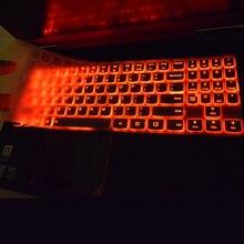 Lenovo Legion Y530 Y520 Y720 R720 R720-15IKB 15.6 inç R15 ISK 15ISK silikon klavye koruyucu film kapak cilt koruyucu